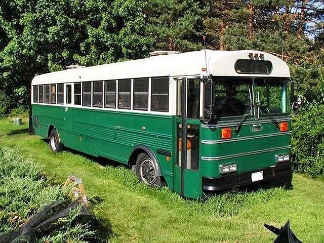 дом в автобусе