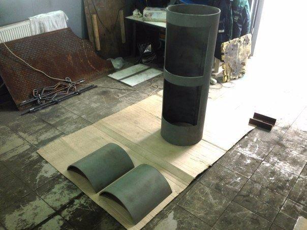 паровозик мангал изготовление