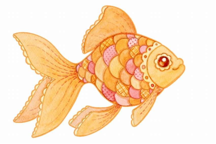 Картинки рисунки золотой рыбки