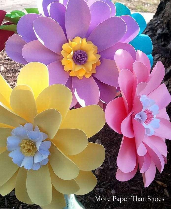 сделанные цветочки картинки индивидуальное