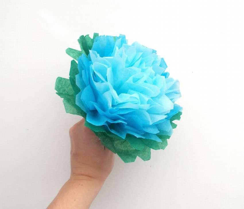 как сделать легко и быстро цветы из салфеток