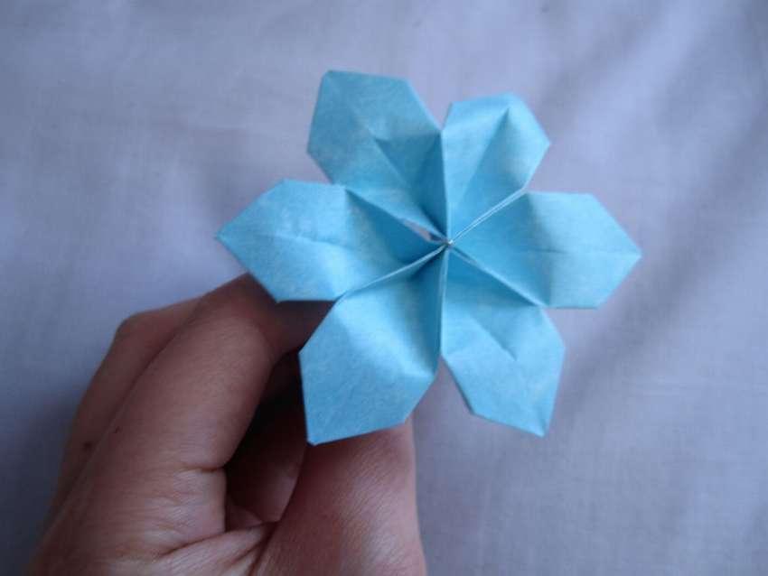 легкие цветы из бумаги для начинающих