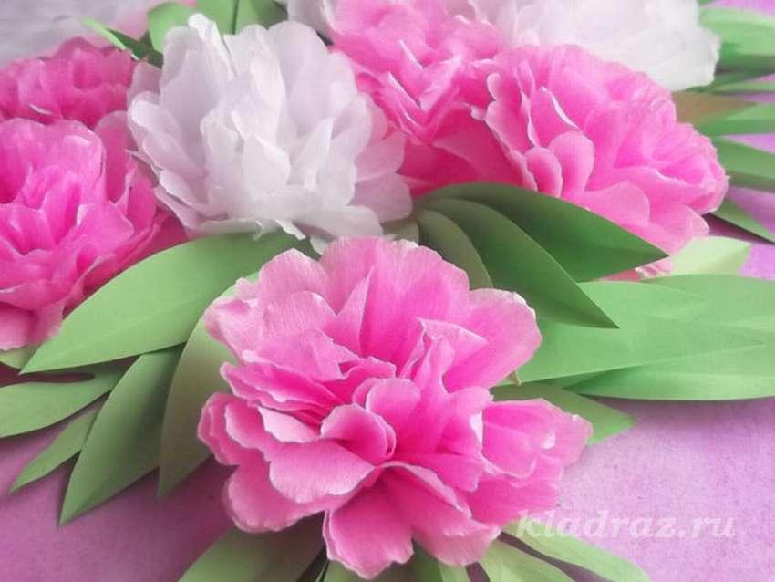 из каких салфеток делать цветы пионы фото воронова, основательница дизайнер