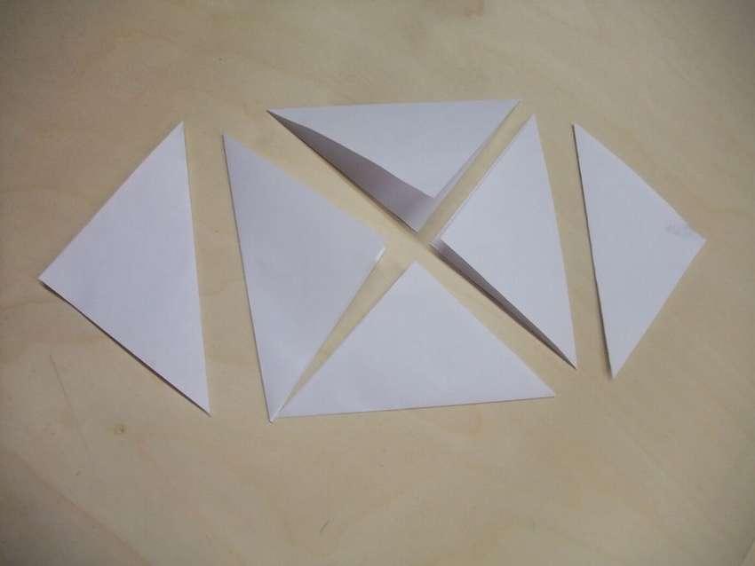 декоративный цветок из бумаги
