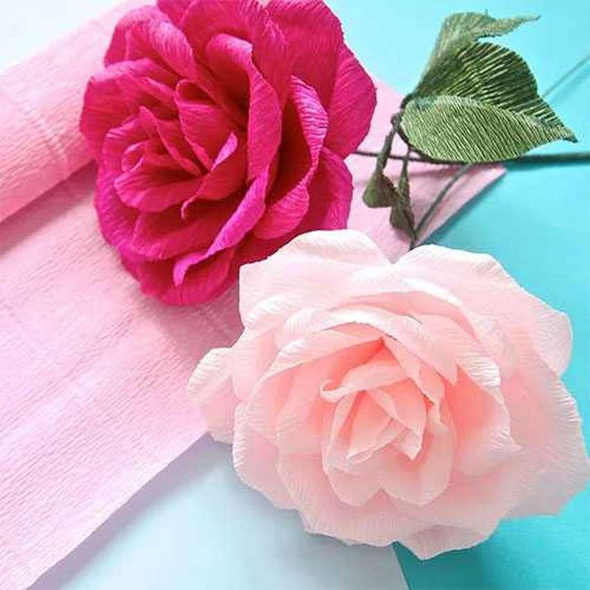 Как сделать картинку с цветами из гофрированной бумаги