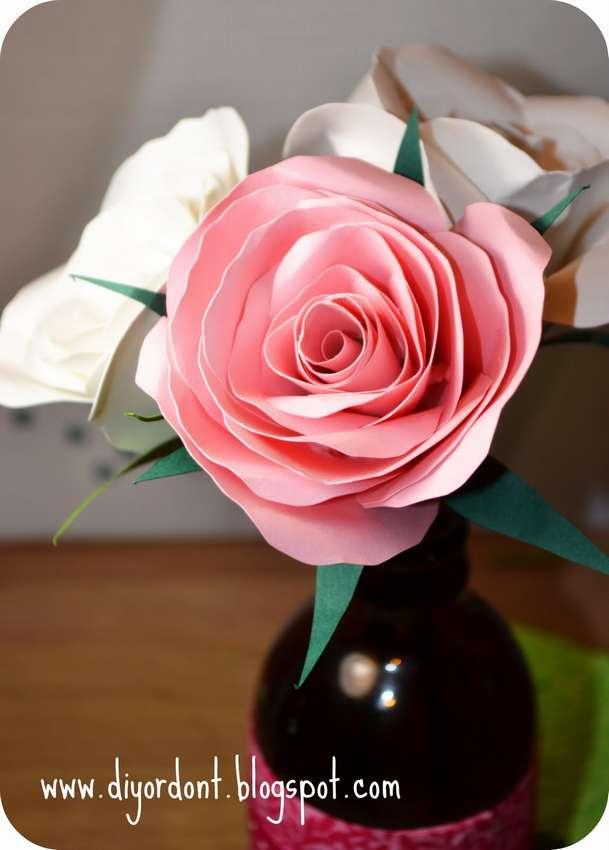 Пошаговая инструкция как сделать розу из бумаги