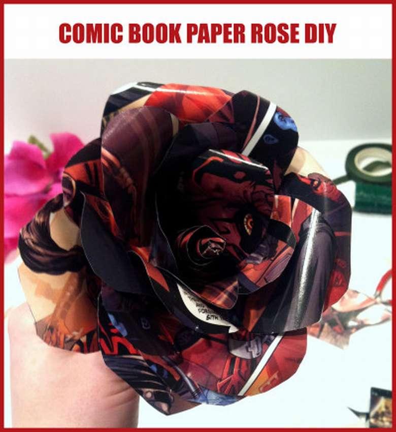 роза из журналов