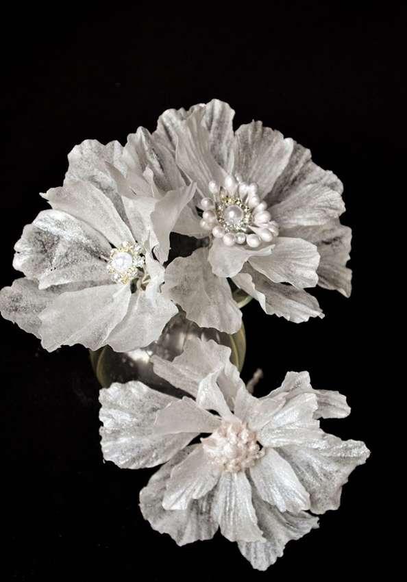 цветы из вафельной бумаги на торт