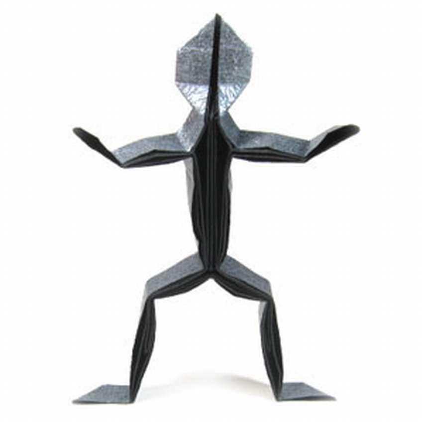 как сделать человека оригами