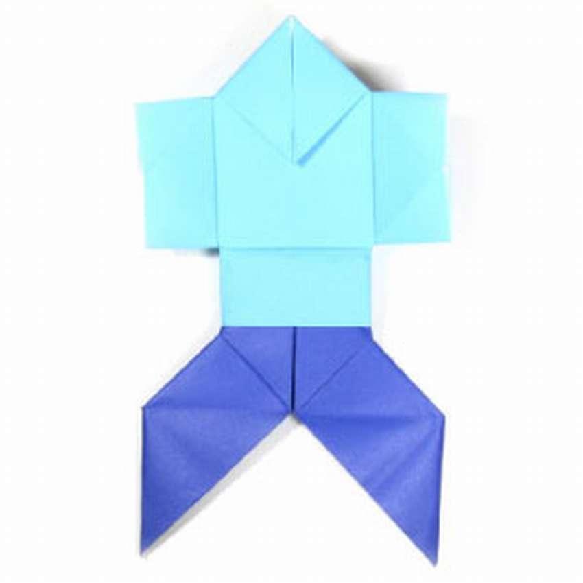 как сделать оригами человека
