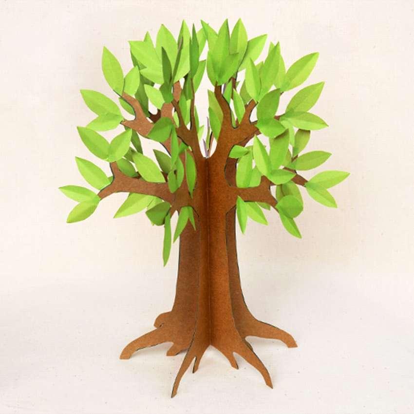 поделка дерево из бумаги своими руками