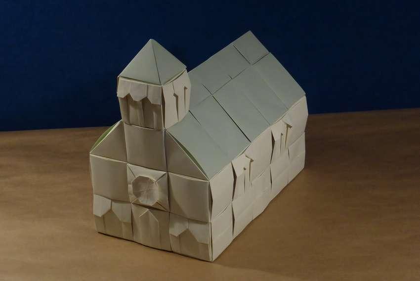 картинки домик оригами беспокоила, первая