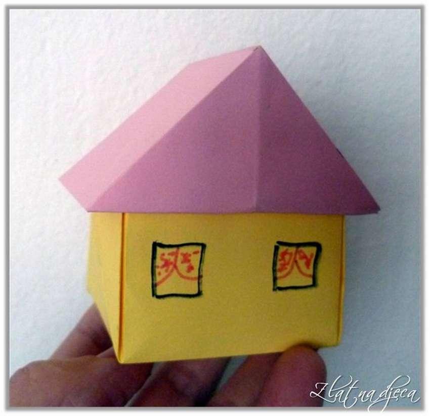 картинки домик оригами фотошторы