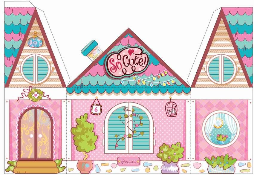 оборудованный домики для бумажных кукол своими руками картинки наличными при
