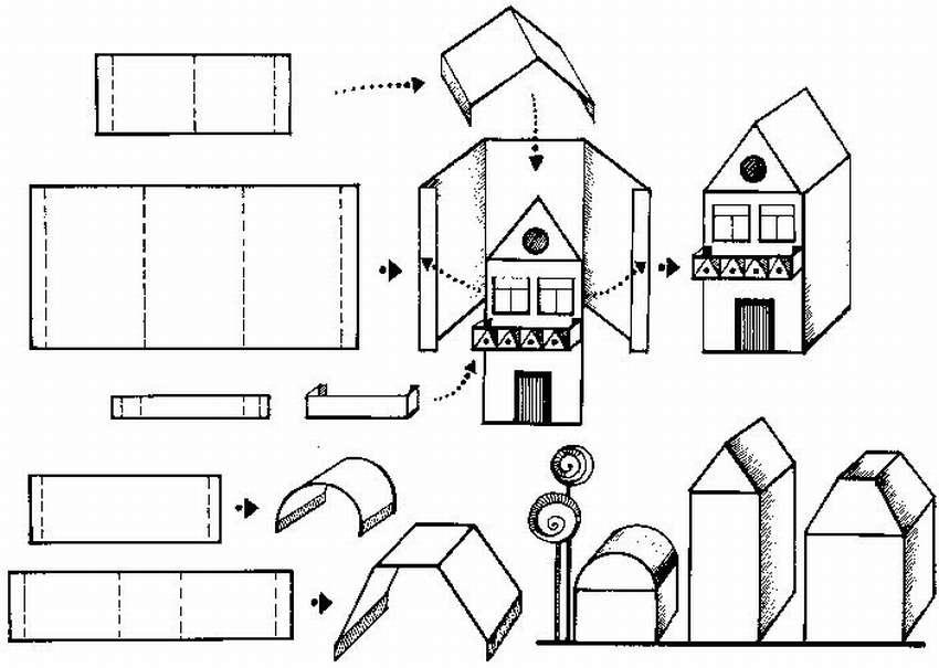 Картинки чертежи из бумаги