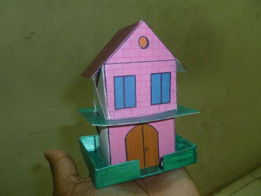 бумажный дом своими руками