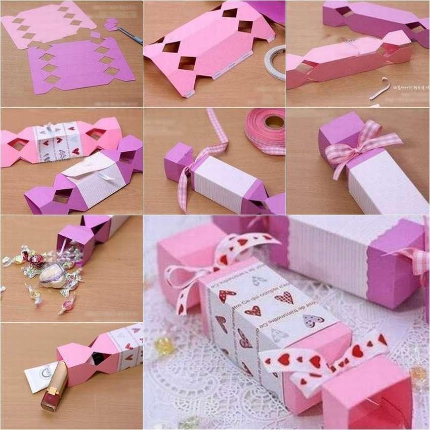конфета коробочка своими руками