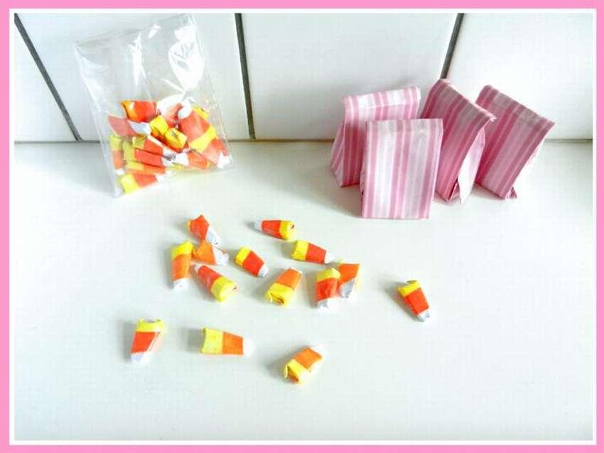 конфета из бумаги оригами