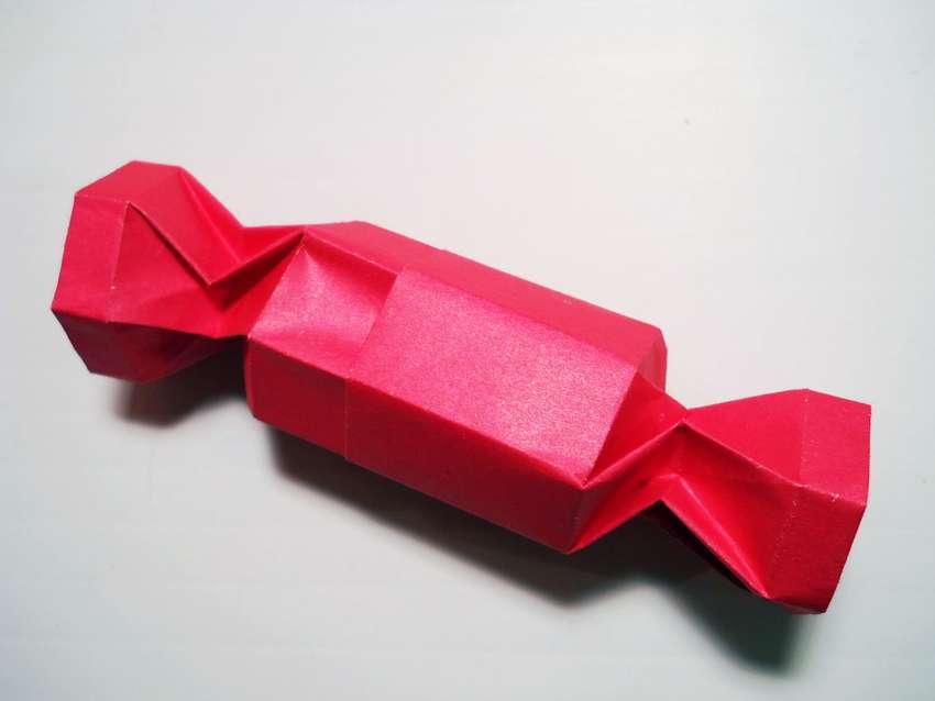 конфета шкатулка из бумаги