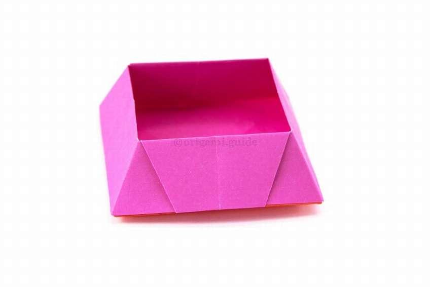 коробка конфет оригами