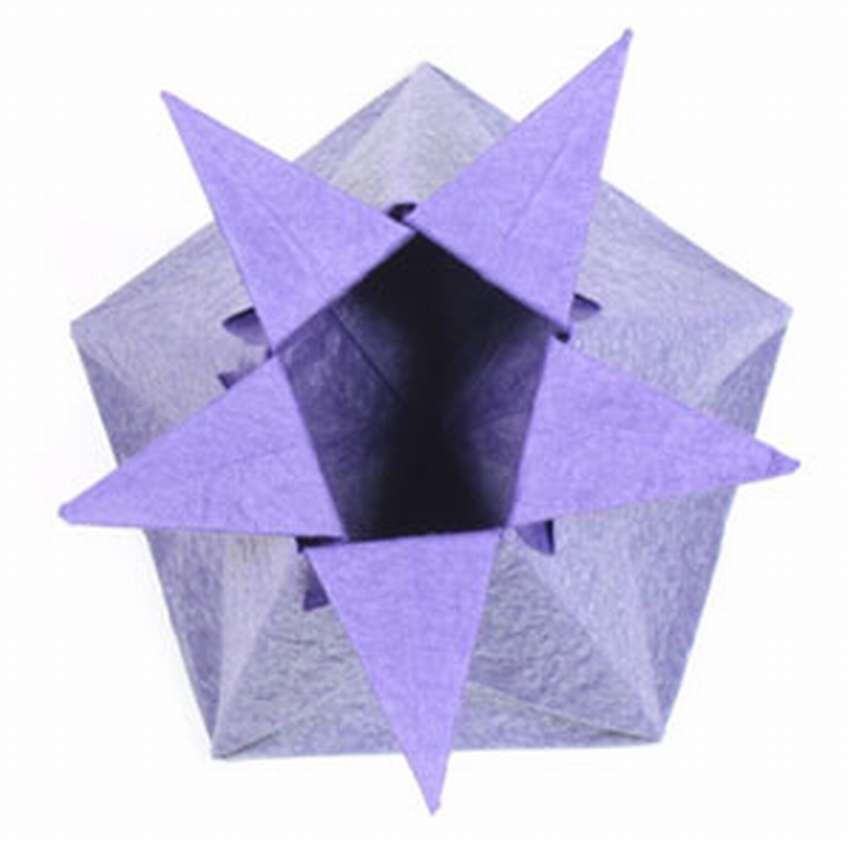 коробку оригами для конфет