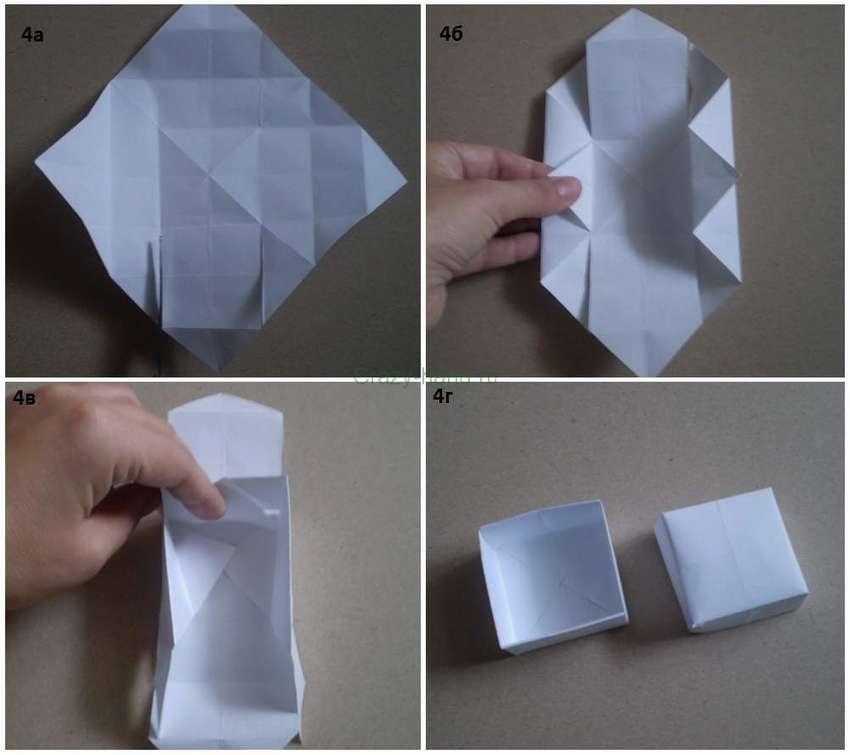 одноразовая коробка для мусора из бумаги