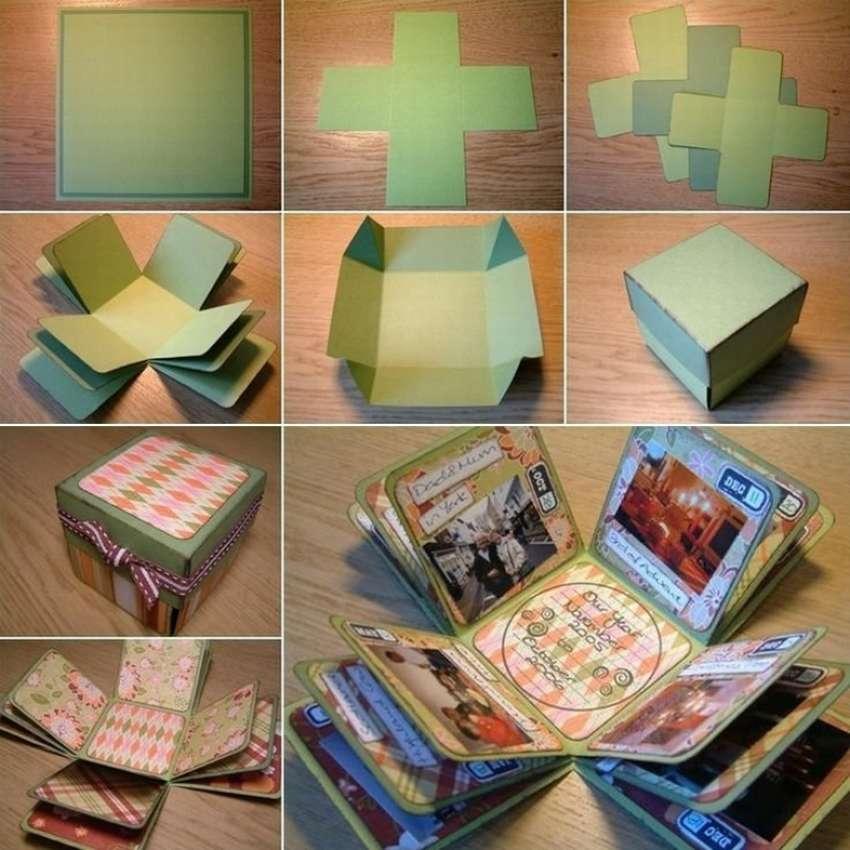 коробочки для фотографий своими руками порциями муку яичной