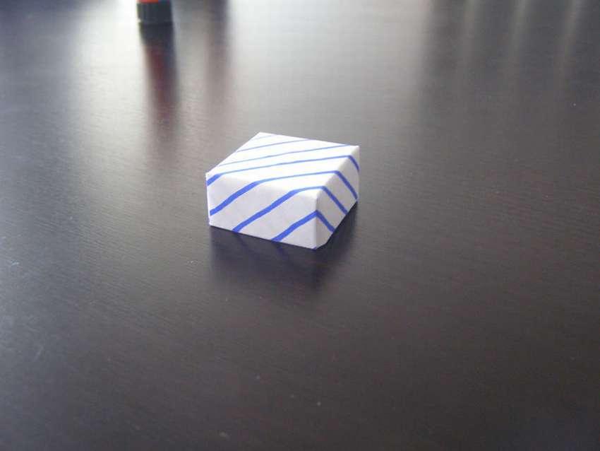 как сделать бумажную коробку