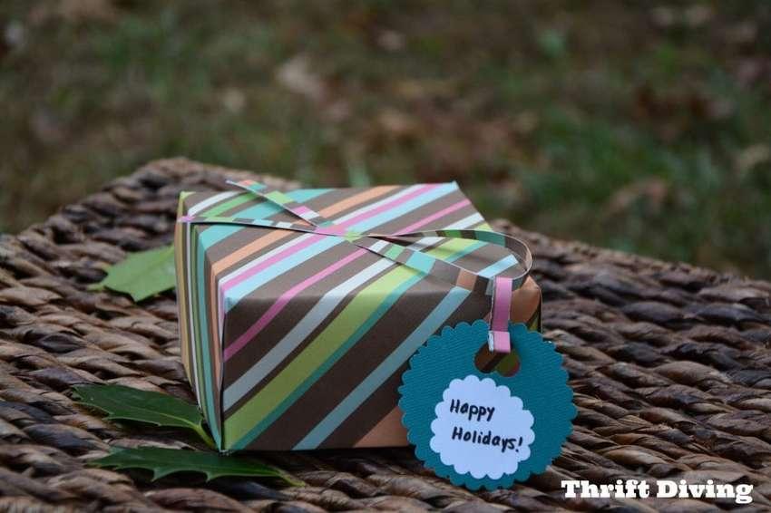 как сделать подарочную коробку из бумаги