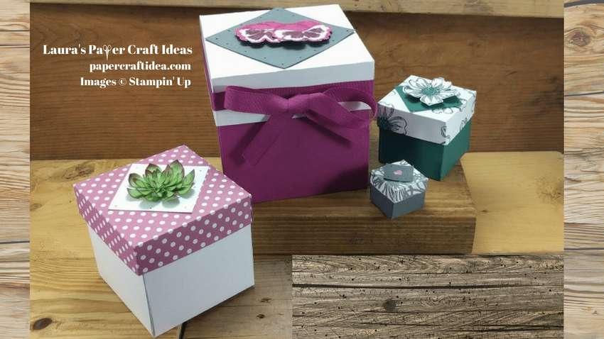 как сделать бумажную коробку для подарков
