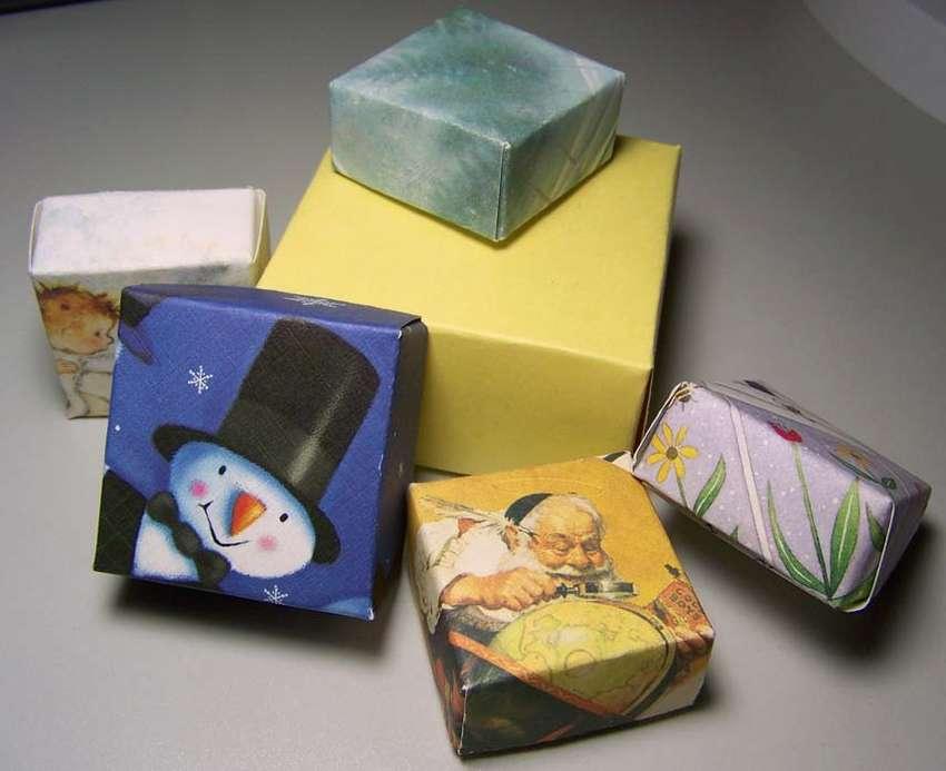 коробочка оригами с крышкой своими руками