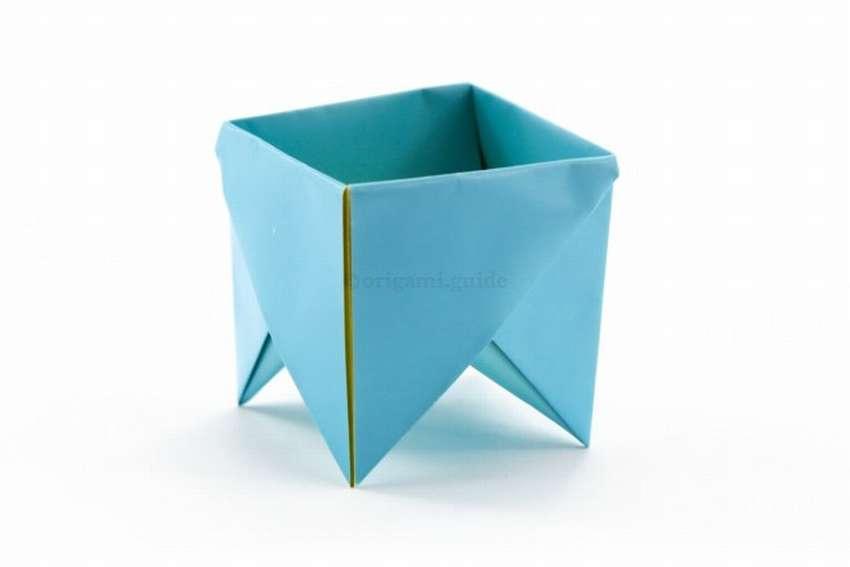 оригинальная коробочка из бумаги