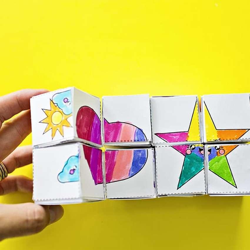 волшебный кубик оригами