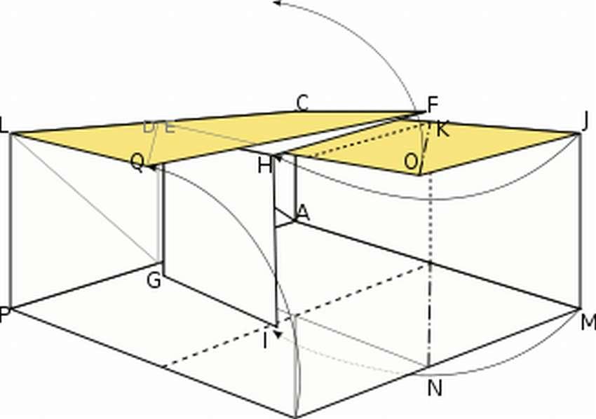 как сделать куб из бумаги схема