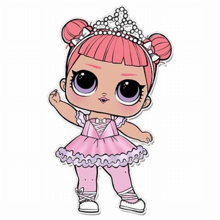Кукла лол в розовом картинка