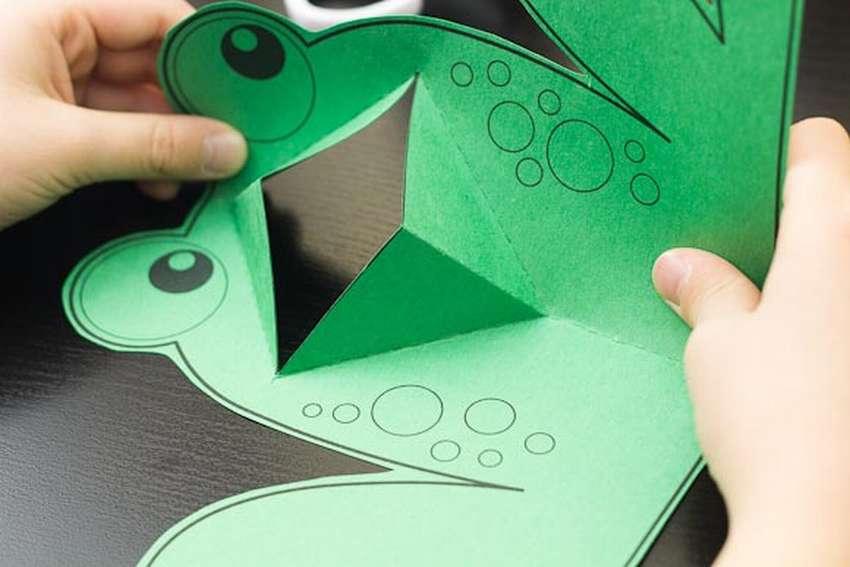 Открытка мужчине, открытка лягушка приглашение технология 2 класс