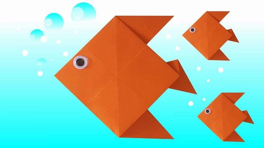 Картинки рыбки оригами
