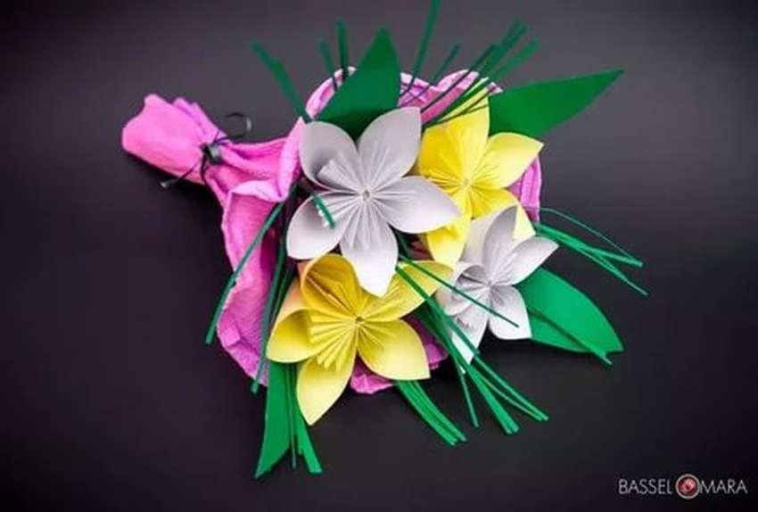 букет цветов из цветной бумаги своими руками определить, почему они