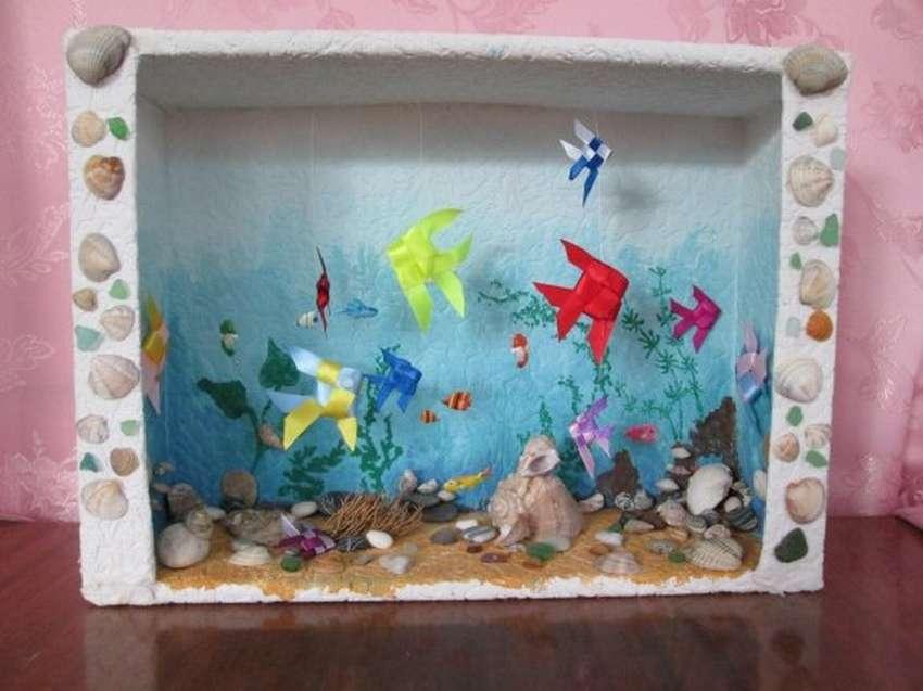 поделка аквариум с рыбками из коробки квартир краснодаре длительный