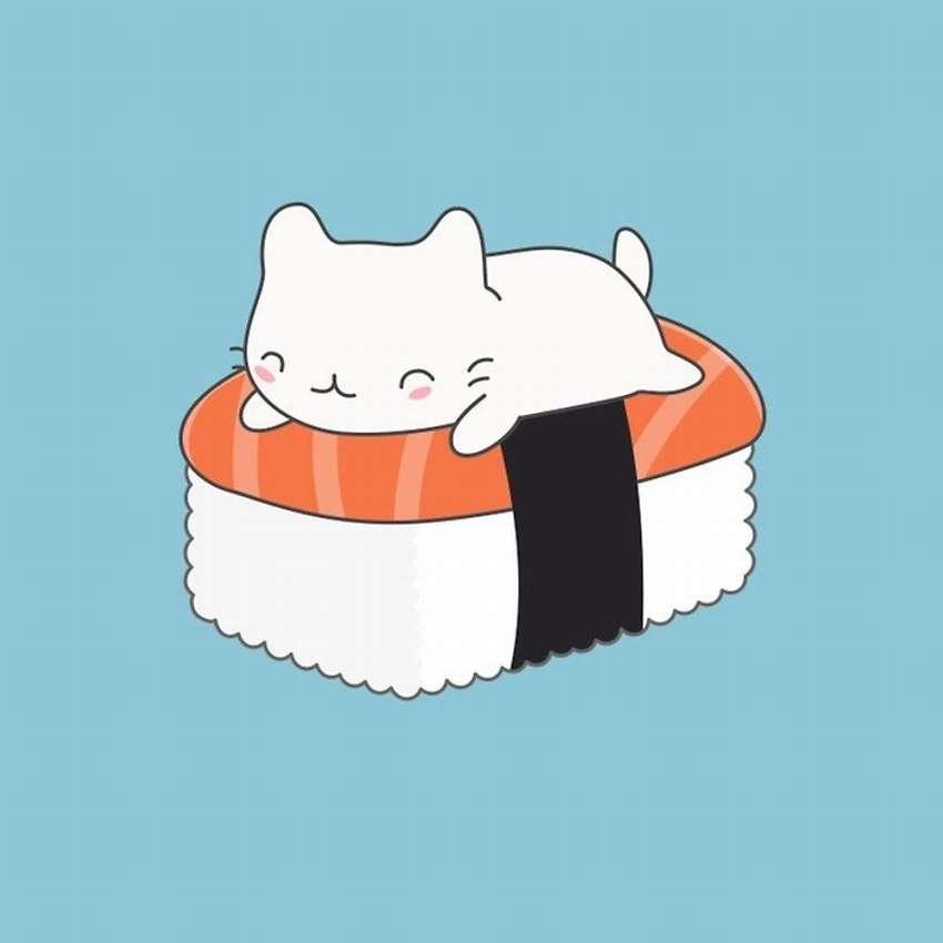 картинка сквиш суши котик люди нас есть