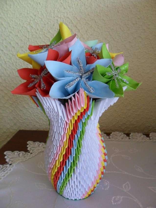 сто ваза из модулей схемы фото примеру