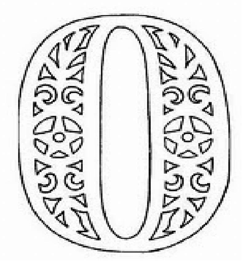 Ажурный алфавит шаблоны
