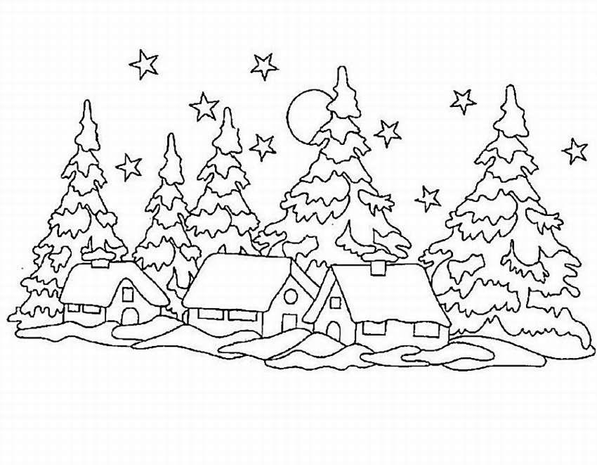Образцы картинок на окна к новому году