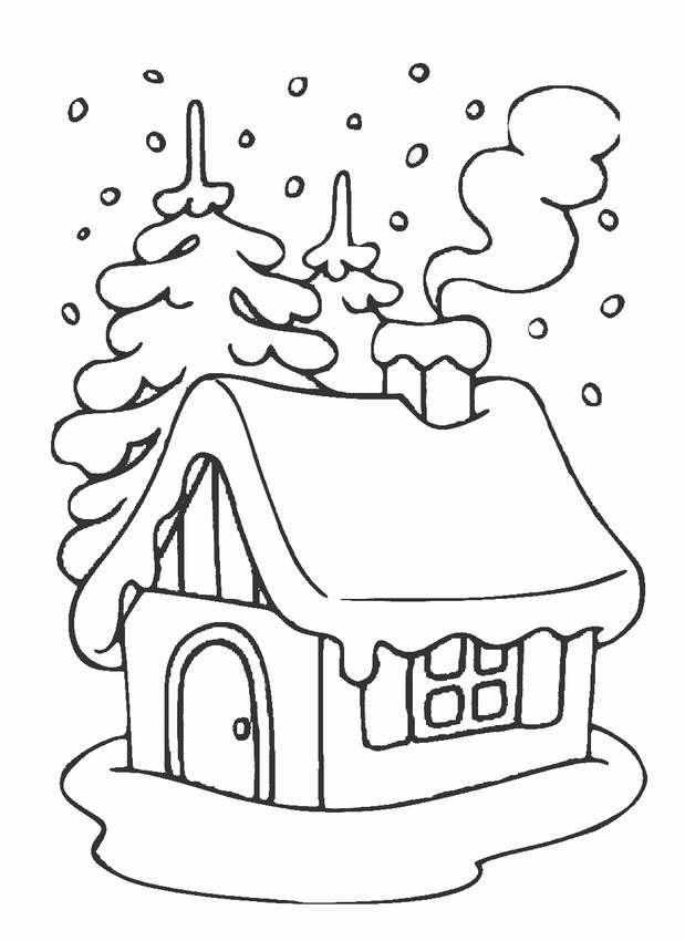 его новогодние дома картинки трафареты собраны лучшие весенние