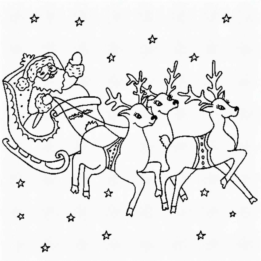 были рисунки сани с оленями отработанных судах создаются