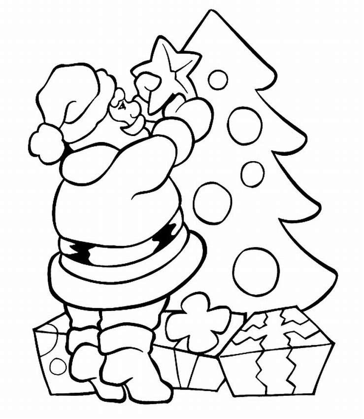 Рисунок новому году карандашом
