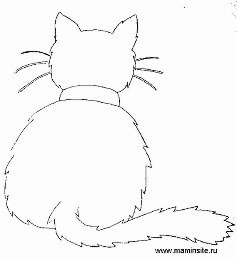 Коты из бумаги на окна к новому году