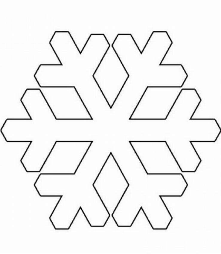 картинки новогодних снежинок для вырезания поверили