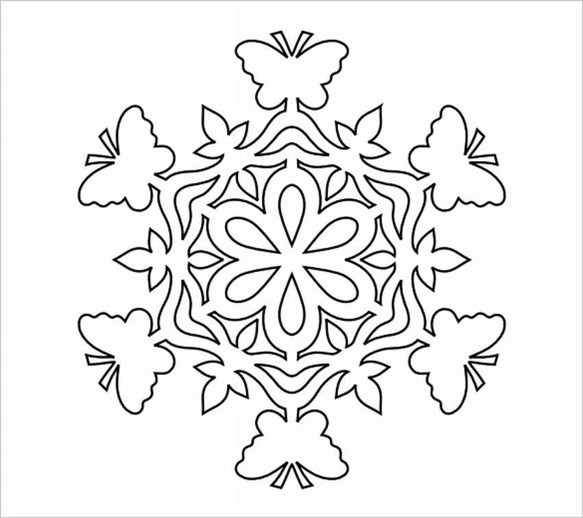 Снежинки и рисунки на окна из бумаги трафареты