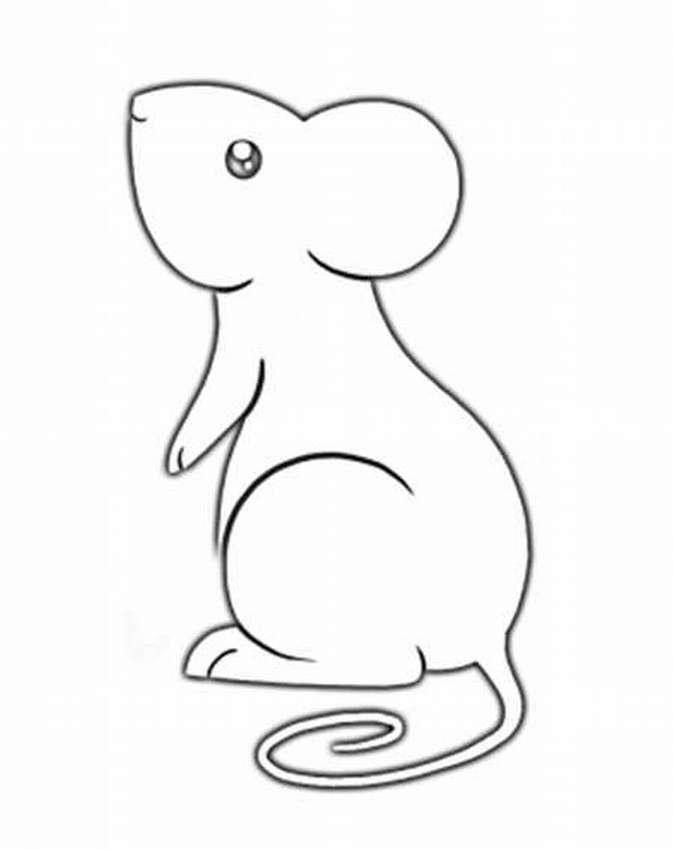 картинка крысы для вырезания снять
